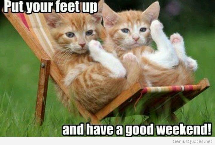 feet up weekend